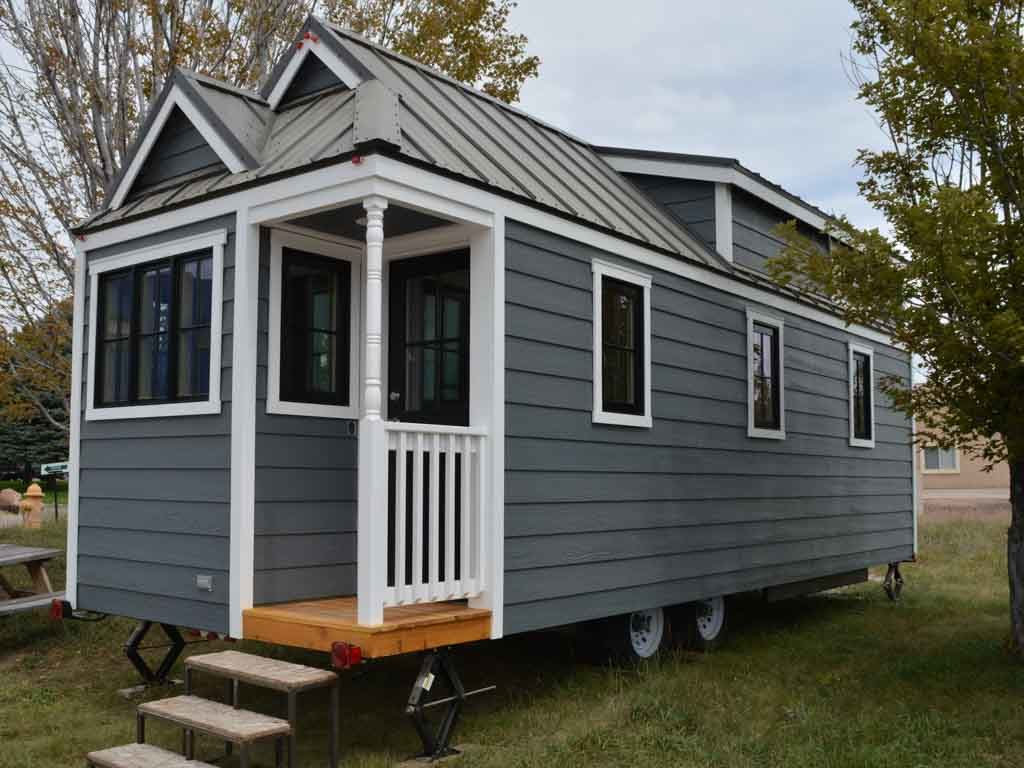 Tiny home built by tumbleweedhouses