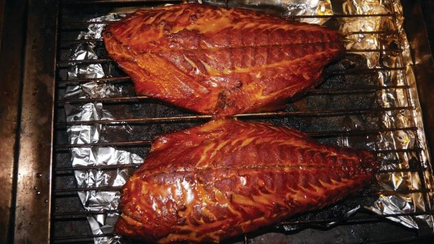 DIY fish smoker